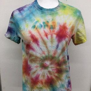 Gilden Heavy Cotton Tye Died T-Shirt